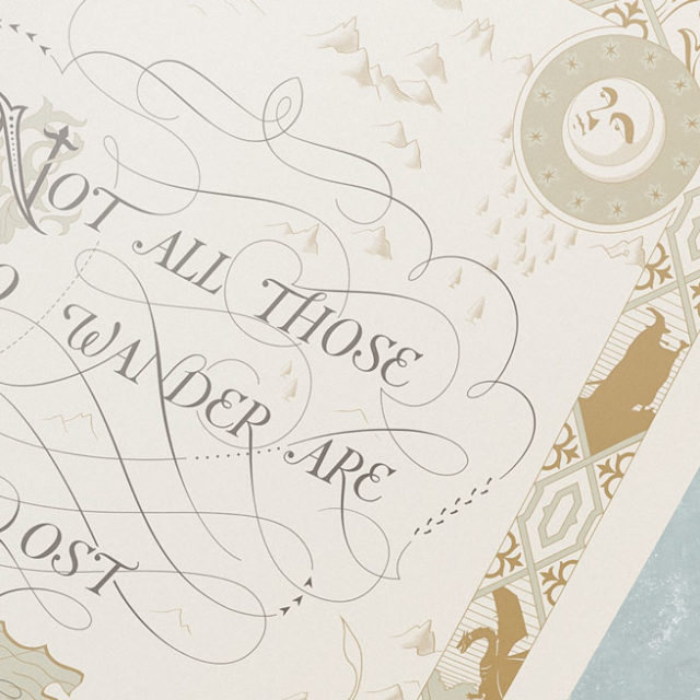 Not All Those Who Wander Are Lost Single Andrew Novialdi Design